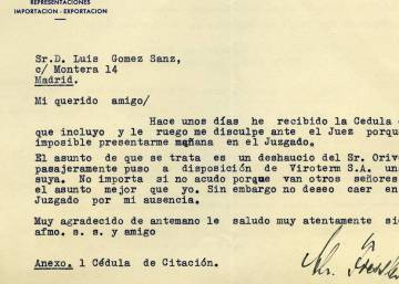 Secret papers of Franco frontman rescued from the trash in Madrid