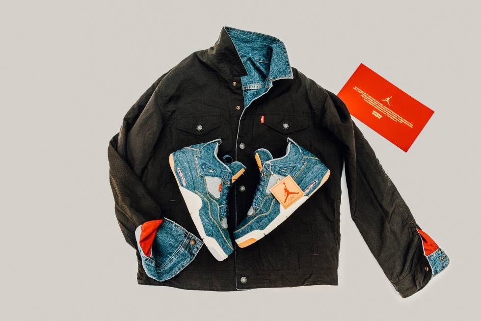 timeless design 566dd cfd33 Fotos: Las nuevas Air Jordan x Levi's y otras colaboraciones ...