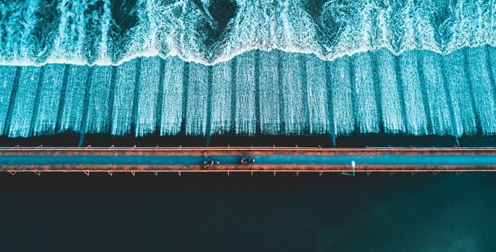 Las fotografías más espectaculares tomadas con drones en 2017