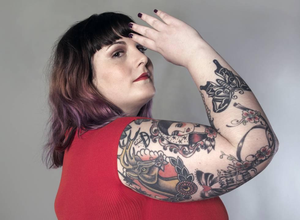"""043838d51c4840 Rebeca Gómez Polo, fundadora de la web We Lover Size. 34 años. Talla 50.  """"Hay un movimiento body possitive maravilloso que engloba a aquellas  mujeres que ..."""