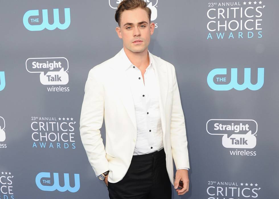 El actor Dacre Montgomery en los Critics' Choice Awards.