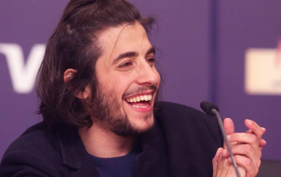 Sobral, tras ganar Eurovisión.