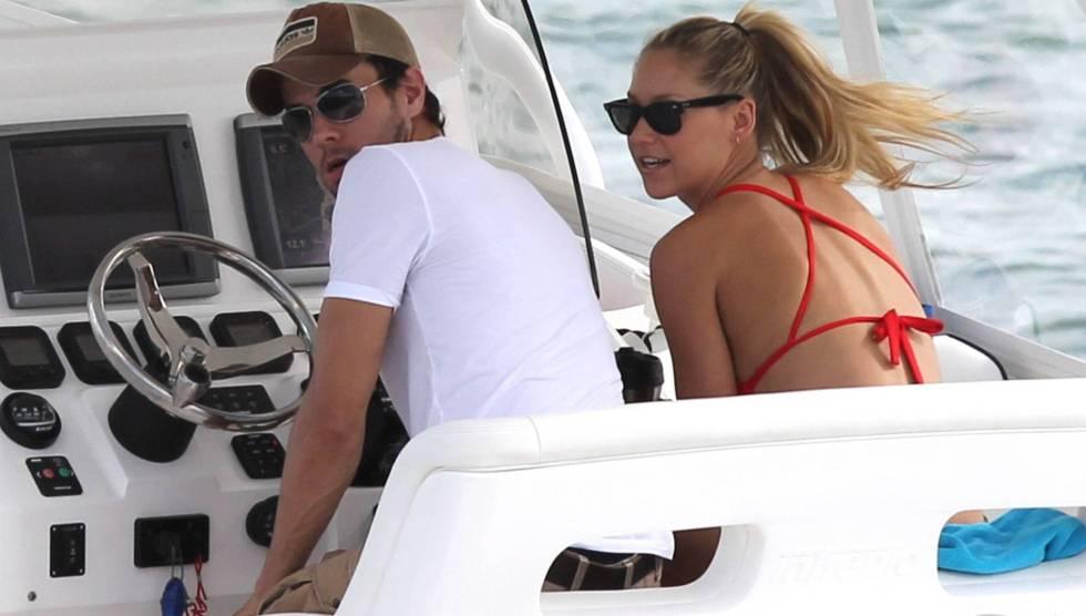 Enrique Iglesias y Anna Kournikova, en Miami