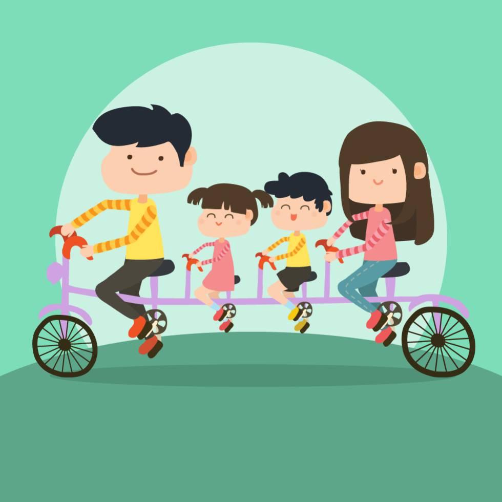 Siete claves para ser mejor padre o madre sin morir en el for Espejos para ver a los bebes en el coche