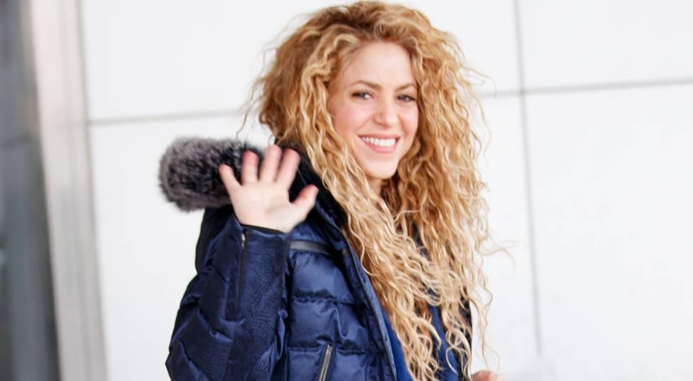Shakira en Nueva York el pasado diciembre.