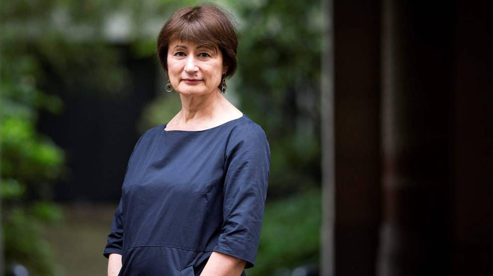 La escritora francesa, Catherine Millet, redactriz del manifiesto 'Mujeres liberan otra voz', publicado en Le Monde el pasado 9 de enero.