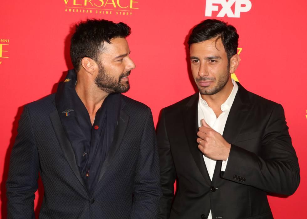 Ricky Martin, la semana pasada con su marido Jwan Yosef.