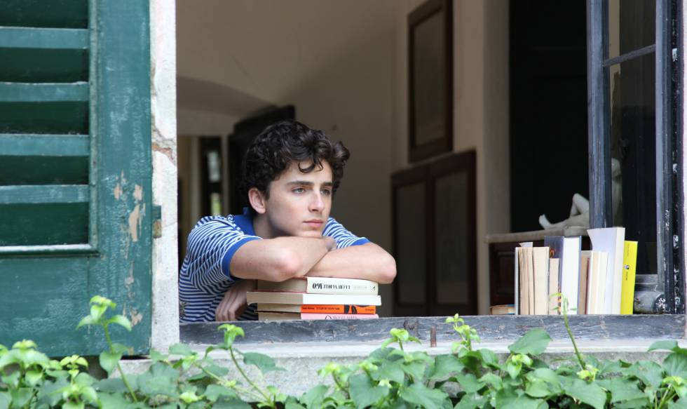 Timothée Chalamet, en una escena de la película 'Call Me by Your Name'.