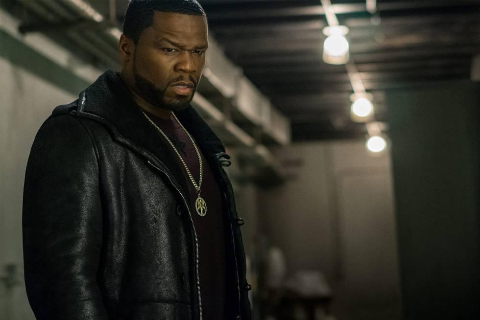 Curtis Power, conocido como '50 Cent', durante un cameo en una serie de televisión emitido el año pasado.