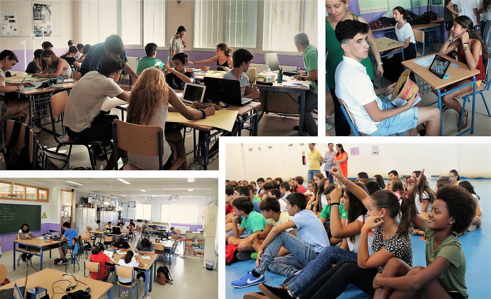 Presentación del proyecto por Mª EUGENIA PÉREZ
