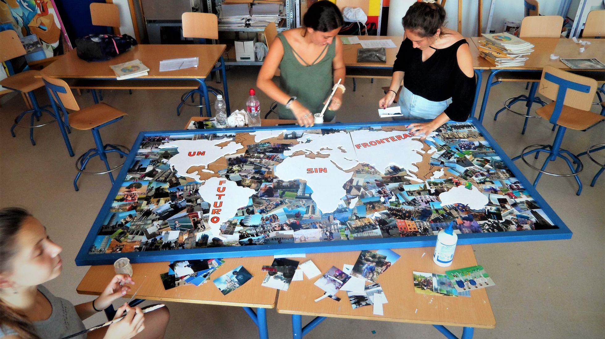'Mapamundi de itacenses por el mundo' | Mª EUGENIA PÉREZ, IES 'ÍTACA'