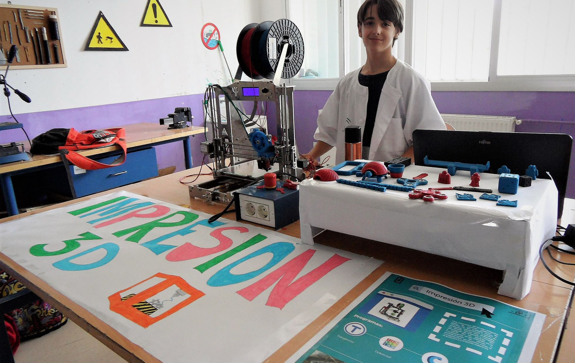 Taller 'Futuro y tecnología' | Mª EUGENIA PÉREZ, IES 'ÍTACA'