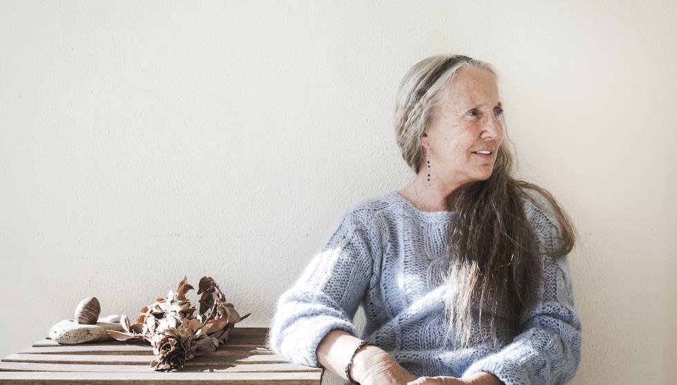 Ana Alonso, en su casa de la Costa del Sol.