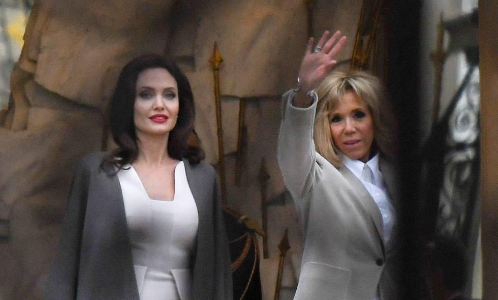Con Angelina JolieVisita Familiar Brigitte LouvreReunión Al XZOPlTkiwu
