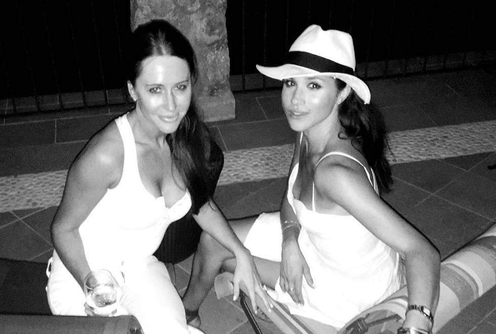 Jessica Mulroney y Meghan Markle, durante sus vacaciones en Italia en verano de 2016 en una imagen publicada por la estilista en su Instagram.