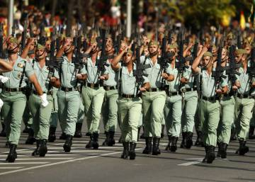 The Spanish Legion declares war on obesity
