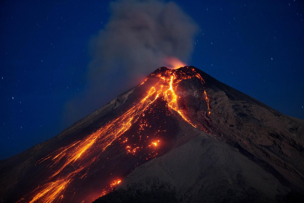 Pacaya eruzione