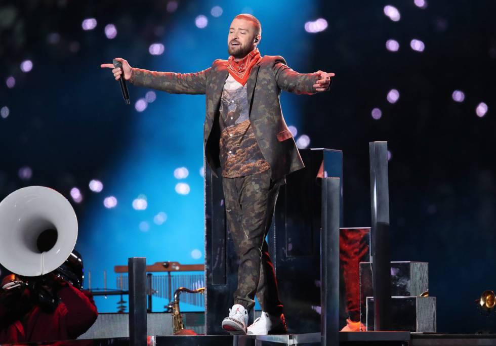 92fc9ede865b4 Justin Timberlake intenta parar en seco las viejas polémicas en su tercera Super  Bowl