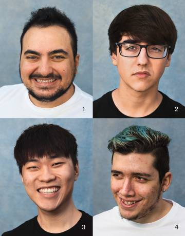 1. Daniele Di Mauro, 'Jiizuke', jugador de 'League of Legends'. Equipo: Team Vitality. 2. Antonio Espinosa, 'Th3Antonio', jugador de 'League of Legends'. Equipo: Giants. 3. Kim Hyeong-min, 'Ruin', jugador de 'League of Legends'. Equipo: Giants. 4. Amadeu Carvalho, 'Minitroupax', jugador de 'League of Legends'. Equipo: Team Vitality
