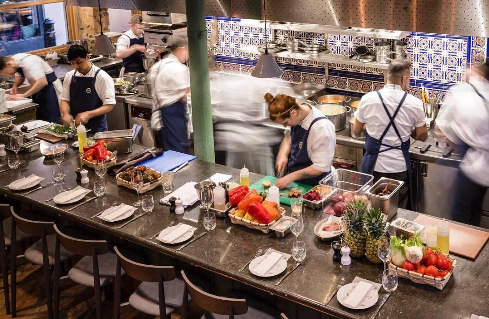 El restaurante Sabor de Londres.