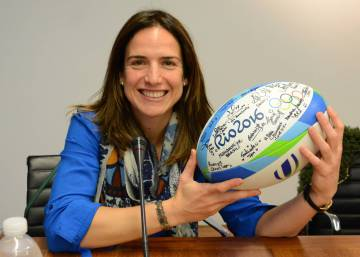 Alhambra Nievas: The female referee proving rugby is not just a man's game