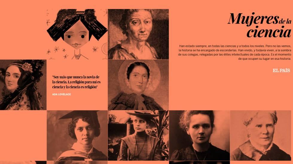 Resultado de imagen de mujeres de la ciencia país