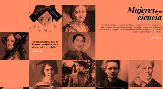 Resultado de imagen de mujeres de la ciencia el pais