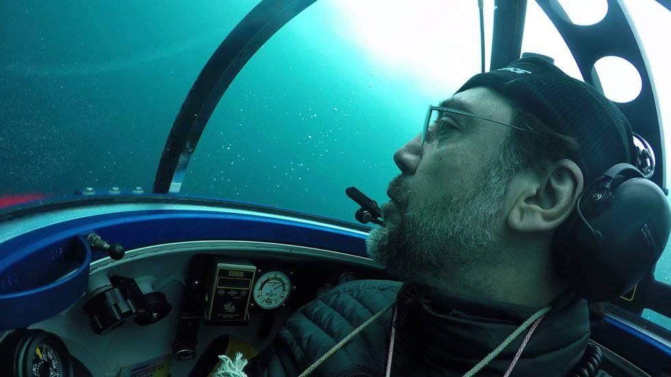 FOTOGALERÍA: Javier Bardem desciende al fondo del océano Antártico para pedir su protección
