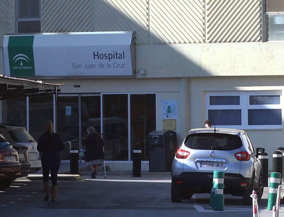 Fachada del hospital San Juan de La Cruz de Jaén, que puso en manos de la Fiscalía de Menores la supuesta violación de un niño de nueve años tras explorarle.