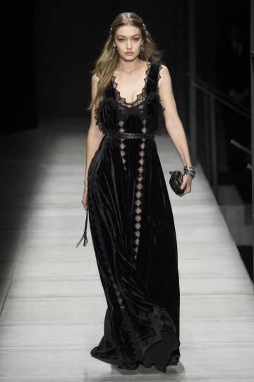 Gigi Hadid en en la Semana de la Moda de Nueva York el pasado 10 de febrero.