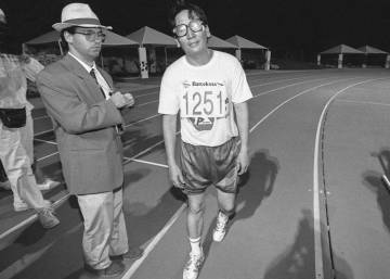 The Mongolian marathon man who shone alone at Spain's 1992 Olympics