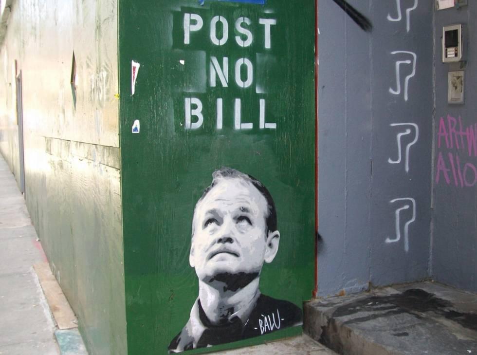Así es el artista vasco que llenó Nueva York con la cara de Bill ...