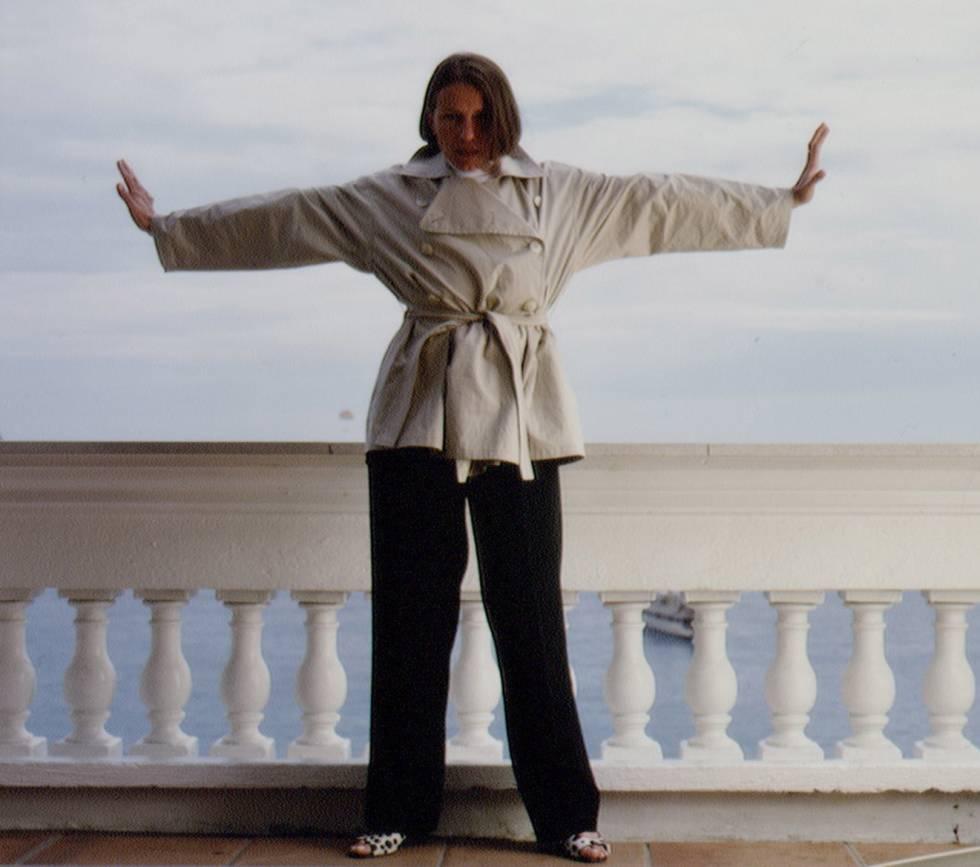 La actriz, en el Festival de Cannes de 1996.