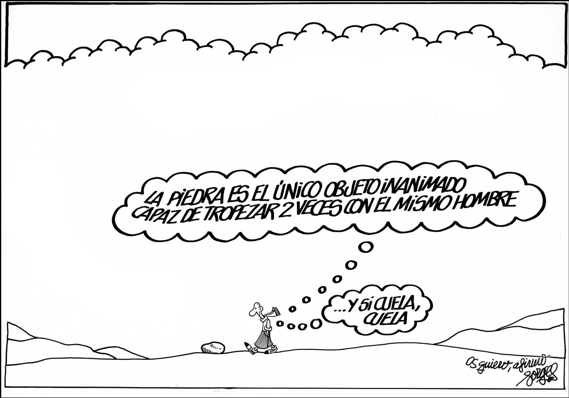 Viñetas de Forges en El País