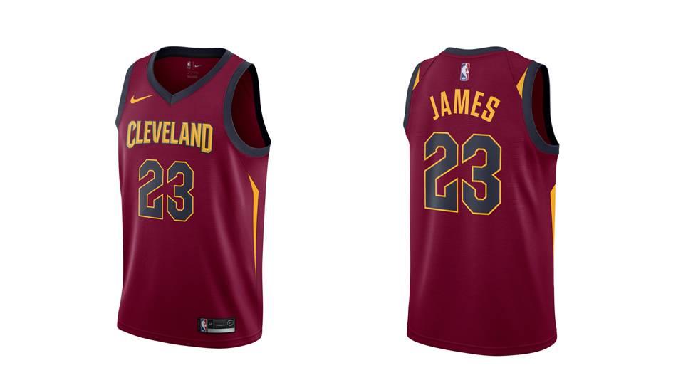 Estas son 10 de las camisetas más vendidas de la NBA  0541eb70c6e36