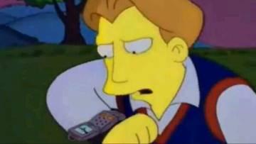 En 1995 ya existían las videollamadas en 'Los Simpson'. Apple tardó 15 años en instaurarlas.