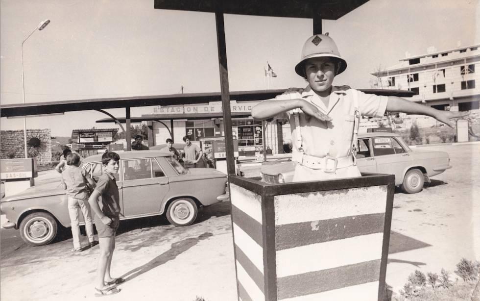La gasolinera de la Ciudad de los Muchachos.