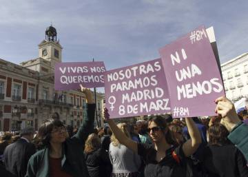 Thousands of women march in Spain to demand equal rights