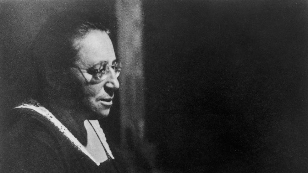 Emmy Noether en 1930.
