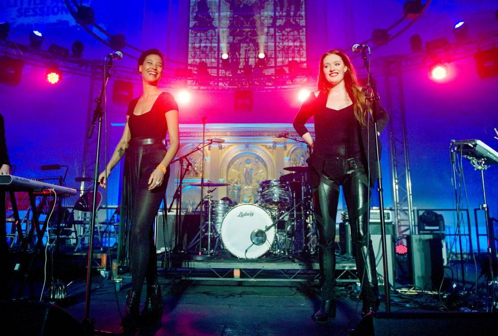 Caroline Hjelt y Aino Jawo, de Icona Pop, en 2011 en Londres. ¿Alguien conoce alguna otra canción de ellas que no sea 'I love it'?