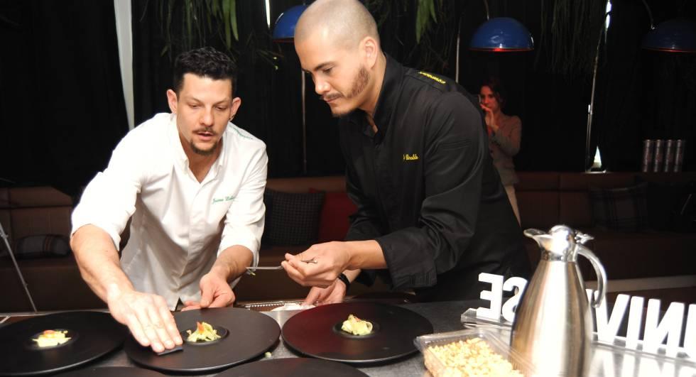 Jaime Lieberman (izquierda) y Jon Giraldo, cocineros y fundadores de Spoonik.