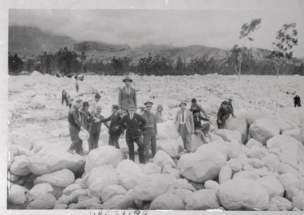 En este enclave de Huaraz (Perú) hubo un hotel hasta que el 13 de diciembre de 1941 una avalancha de piedra, hielo y barro lo destruyó.