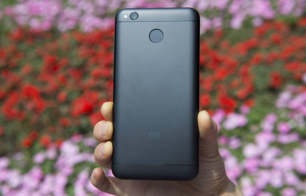 En la imagen, el Xiaomi Redmi 4X.
