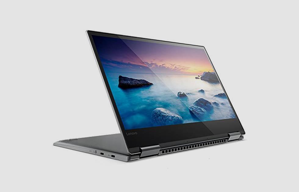 El modelo Lenovo Yoga 720 encabeza las listas de ventas en las filiales españolas de Amazon y Fnac.