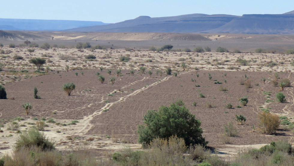 El desierto de Marruecos.