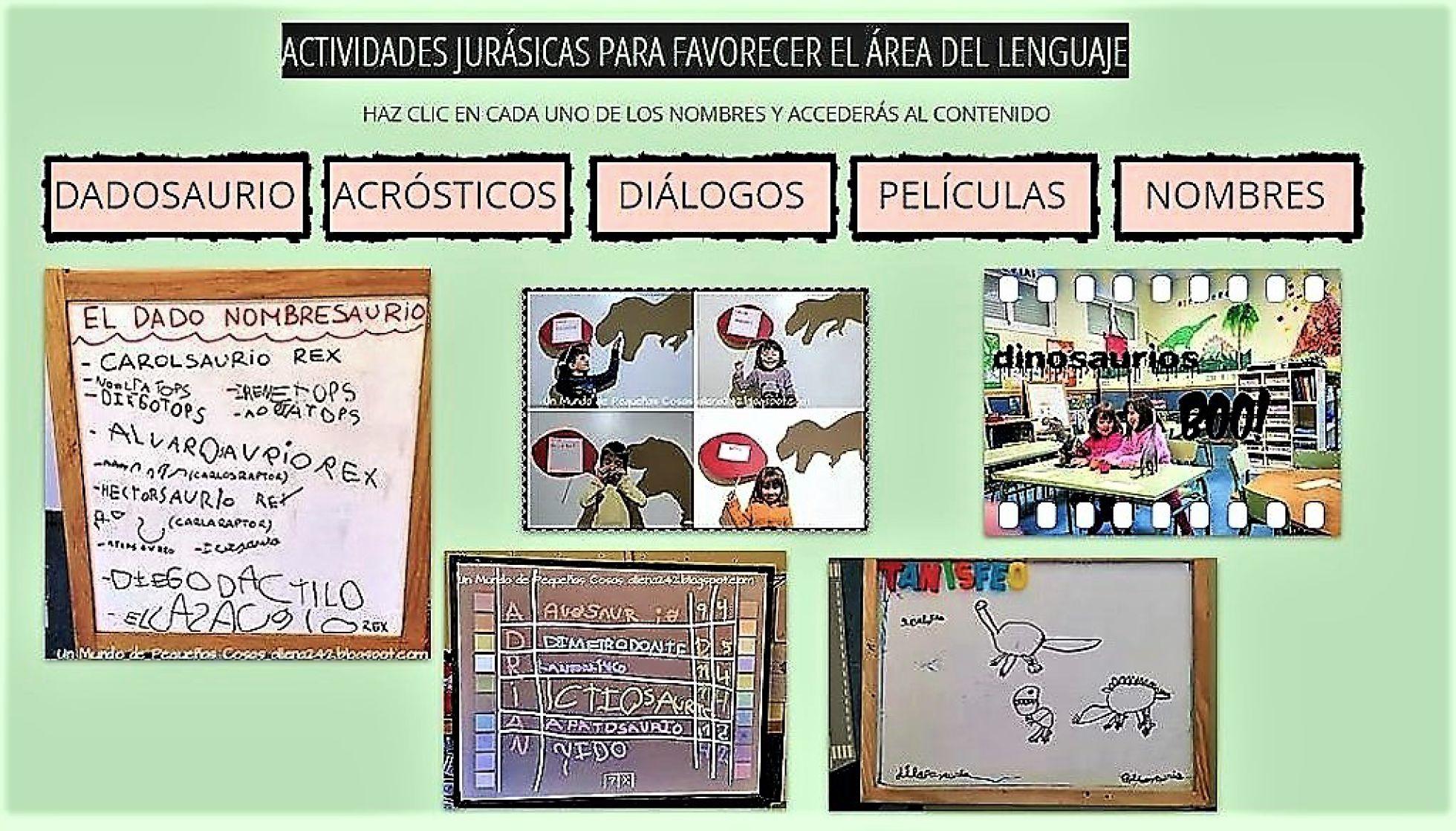 8c0eca407 Innovacion educativa. Educación Infantil  Dinosaurios en el camino ...