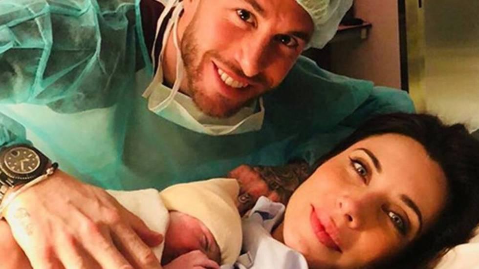 Pilar Rubio y Sergio Ramos tras ser padres.