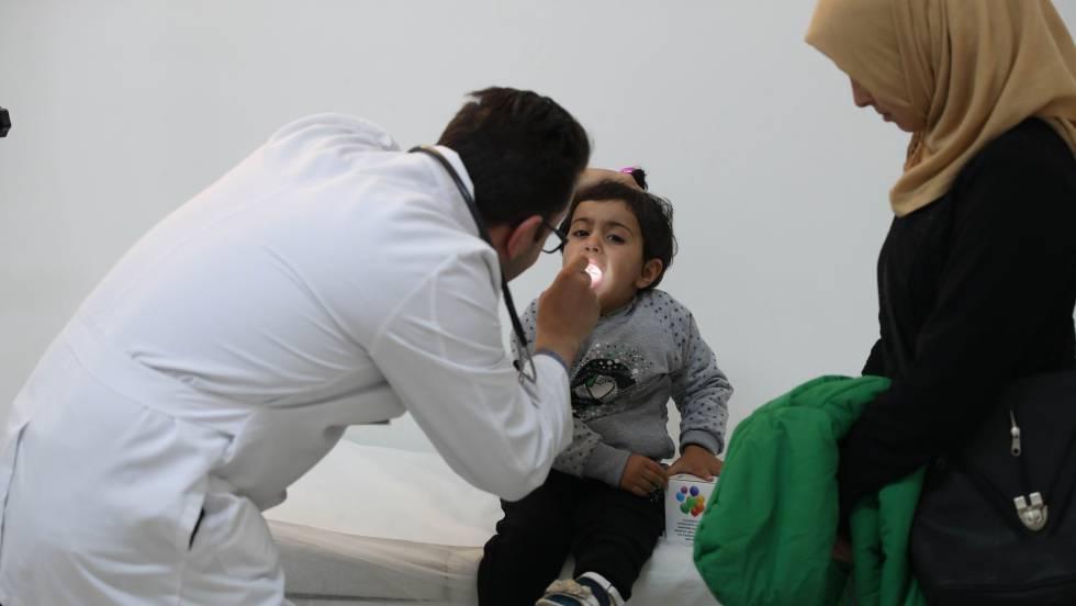 Doctores refugiados para mejorar la salud de los refugiados