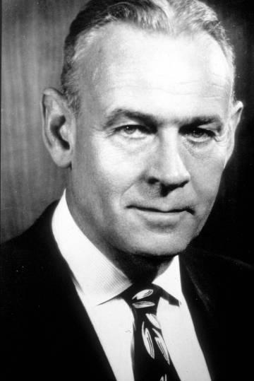 El empresario J. Howard Marshall, una de las grandes fortunas de Estados Unidos.