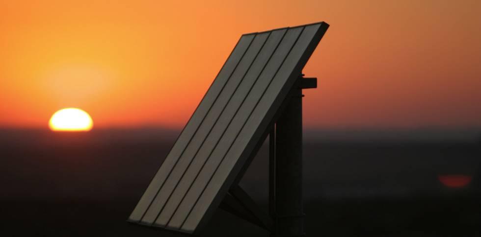 Paneles solares en Andalucía.